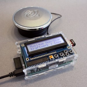 Wifi Raspberry Pi Radio running Pandora